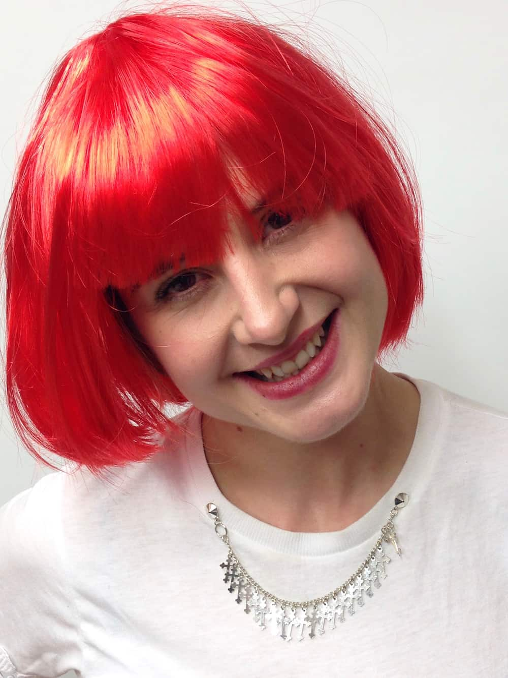 Short Flame Red Bob Wig New Wigs St Cyr Vintage