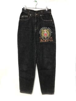 image of a pair of Vintage Jacky-O Embroidered Mom Jeans