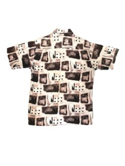 Abstract Vintage Shirt Squares